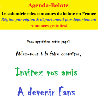 Agenda-Belote