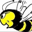 Lachende Biene