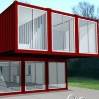 Ma maison conteneur objectif 100m2 de maison pour 50 000 en auto construction - Maison modulaire container ...