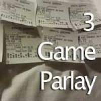 NFL – 3 Game Parlay – Gambling and Winning