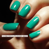 flying rice & polishing nails